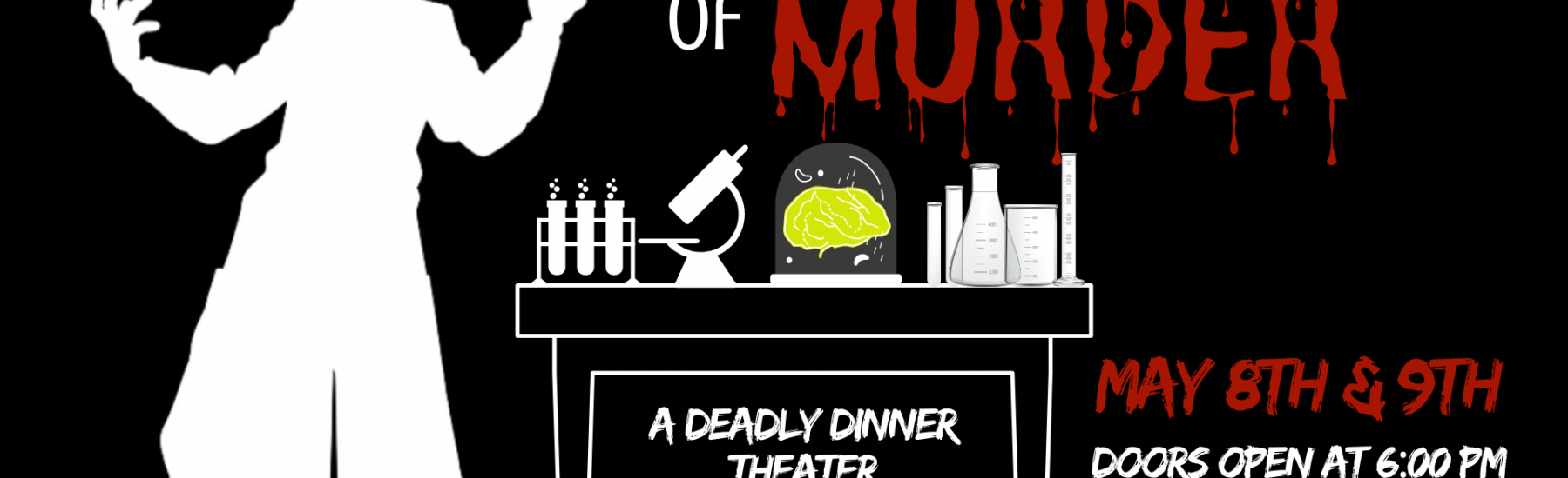The Science of Murder- May 8th & 9th