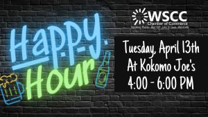 April Happy Hour @ Kokomo Joe's Family Fun Center